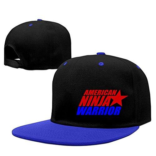 Unisex American Ninja Warrior Logo–Gorra de rejilla, color rojo