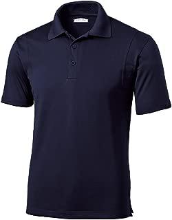 Joe's USA Mens Moisture Wicking Micropique Golf Polos in Regular, Big & Tall