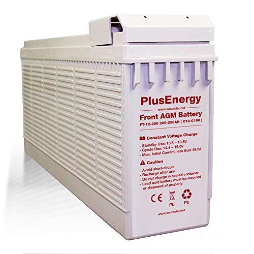 Bateria solar AGM PlusEnergy FT12-250 250Ah 12V