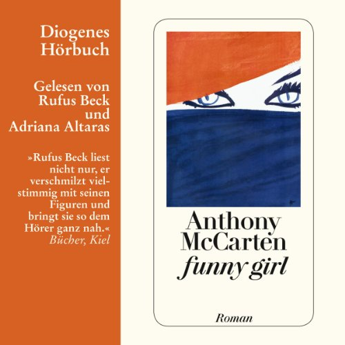 funny girl audiobook cover art