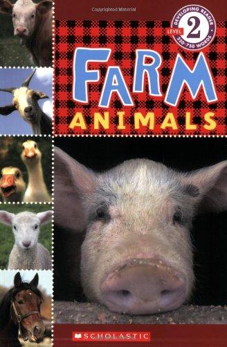 Farm Animals (Scholastic Reader  Level 2)