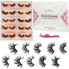 1.【Dramatic Long Crossed Cluster Type & Up to 9 Layered】 -- New update 9 layered,mixed multiple layered 25mm fluffy full eyelashes with perfect layered 3D effect, vivid glamorous and shiny. Can be trimmed on the edges, make a gorgeous makeup. Suitabl...