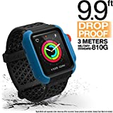 Designed for Apple Watch Impact Case 42mm Series 3 & 2 Rugged Protective Case by Catalyst, Drop Proof Shock Proof Impact Resistant Designed for Apple Watch Case, Blueridge/Sunset