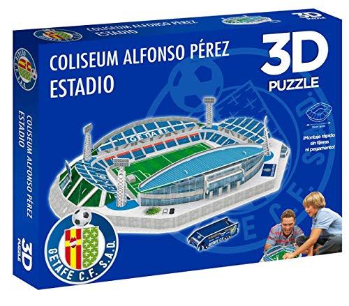 Eleven Force Puzzle 3D Coliseum Alfonso Pérez (Producto Oficial Getafe CF) (98 Piezas Aprox.)
