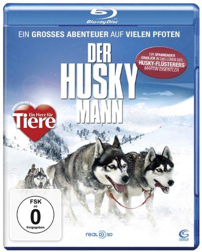 Der Husky Mann - Ein großes Abenteuer auf vielen Pfoten (mit Husky-Flüsterer Martin Eigentler) [Blu-ray]