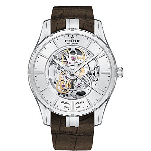 Edox Grand Ocean Reloj de Hombre automático 41mm Correa de