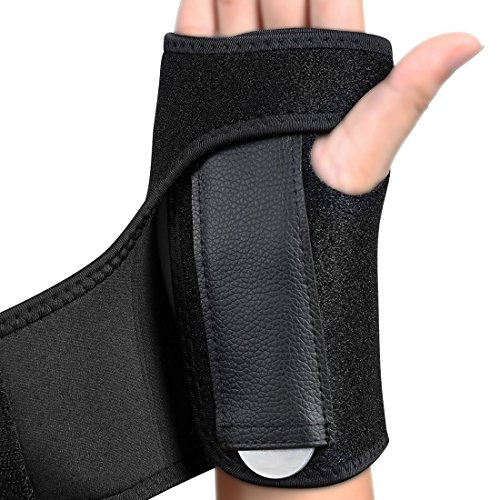 Made of soft and comfortable material to relieve edema with acute injuries Velcro brand closure to prevent discomfort and constant readjusting Offers firm compression and soft tissue support, and relieves pain caused by carpal tunnel, arthritis, and ...