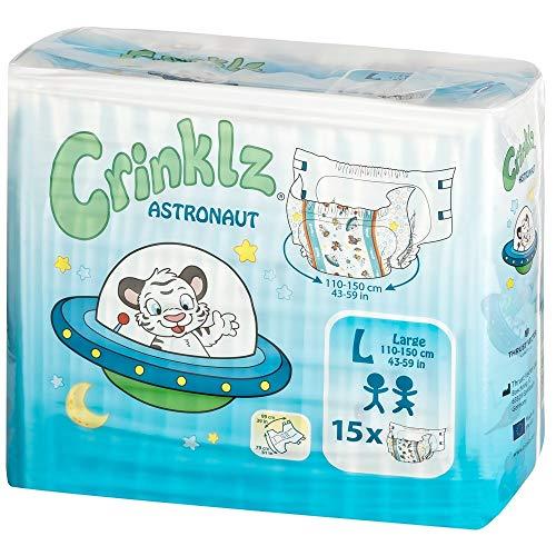 Crinklz Astronaut Large - Packung mit 15 Stück