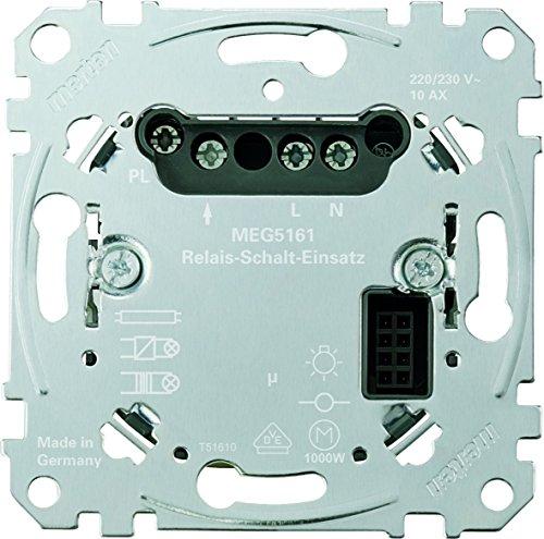Merten MEG5161-0000 Relais-Schalt-Einsatz, Metallisch