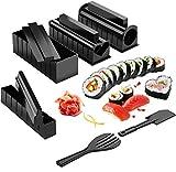 Pezzi Kit per la preparazione di sushi per principianti Pratico strumento per sushi in plastica di alta qualità, strumento per sushi domestico fai-da-te