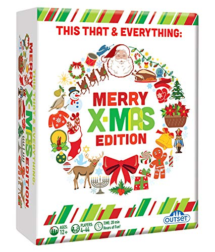 Outset This That & Everything: Merry X-Mas Party Game Standard