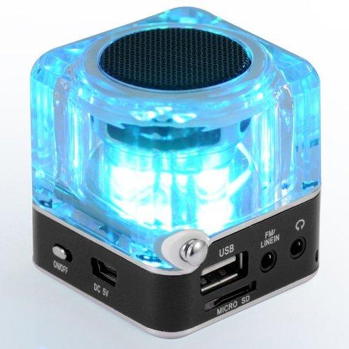 NiZHi TT-028 MP3 Mini Digital Portable Music Player Micro SD USB FM Radio (Black)