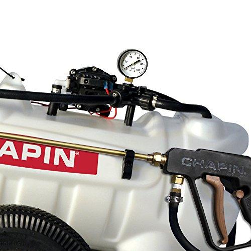 Chapin 97600 15-Gallon, 12-Volt EZ Tow Dripless Fertilizer, Herbicide and Pesticide Sprayer, 15-Gallon (1 Sprayer/Package)