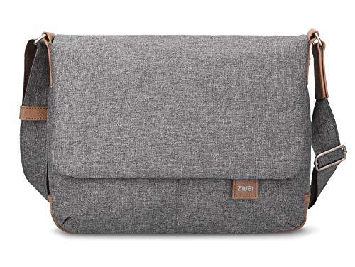 zwei Olli OT13 Messenger Bag 33 cm Stone