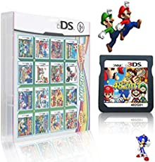 482 in 1 Game Cartridge, DS Game Pack Card Compilations, Super Combo Multicart for Nintendo DS, NDSL, NDSi, NDSi LL/XL, 3DS, 3DSLL/XL, New 3DS, New 3DS LL/XL, 2DS, New 2DS LL/XL