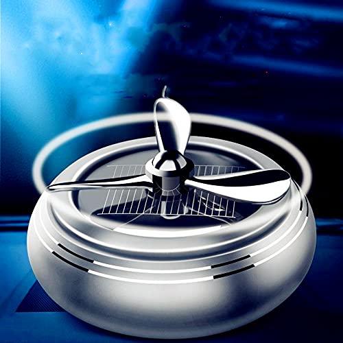 Gwgbxx Perfume de automóvil Perfume Solar Perfume Perfume DUSTANCIA LUZ FRAMACIDAD ACEPLES Accesorios Interiores (Color Name : Silver)