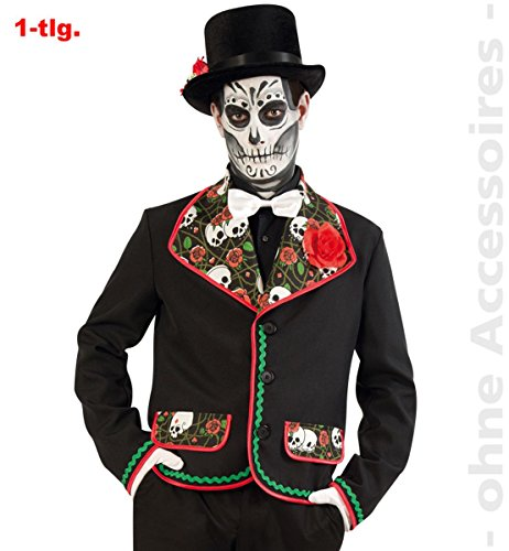 Party-Chic- Disfraz El Fargo  Chaqueta  Talla L, Multicolor, Large (Fritz Fries & Shne GmbH 14072)