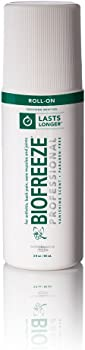 Biofreeze Professional Roll-On Pain Relief Gel 3 oz. Bottle
