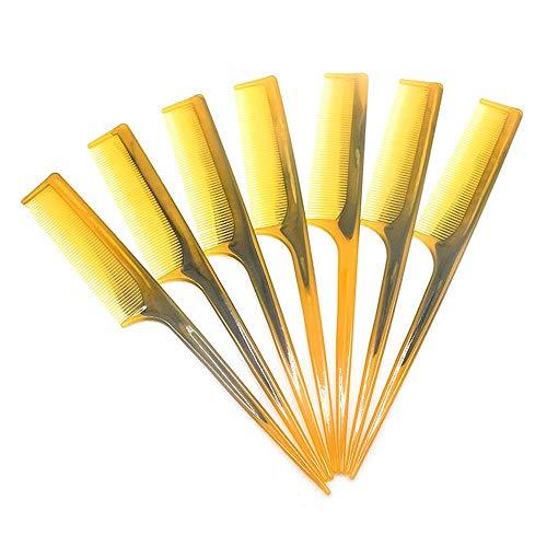 DSJ Corne Peigne À Long Manche en Plastique Corne Peigne Accessoires De Soins des Cheveux Peigne Cheveux, 1 pcs