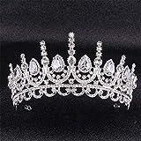 CCChaRLes Haute Bijoux De Mariage Bijoux Pageant Couronne Bandeau Cristal Strass Princesse Tiara Bandeau