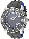 Invicta Men's Pro Diver Stainless Steel Automatic-self-Wind Diving Watch with Silicone Strap, Grey, 26 (Model: 20200)