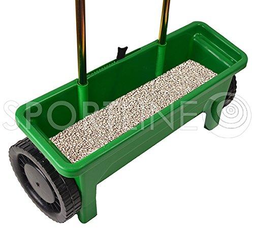 Salzstreuer Drillmaschine 12 l Düngerstreuer Sämaschinen 10 Schritte;;;;; - 2