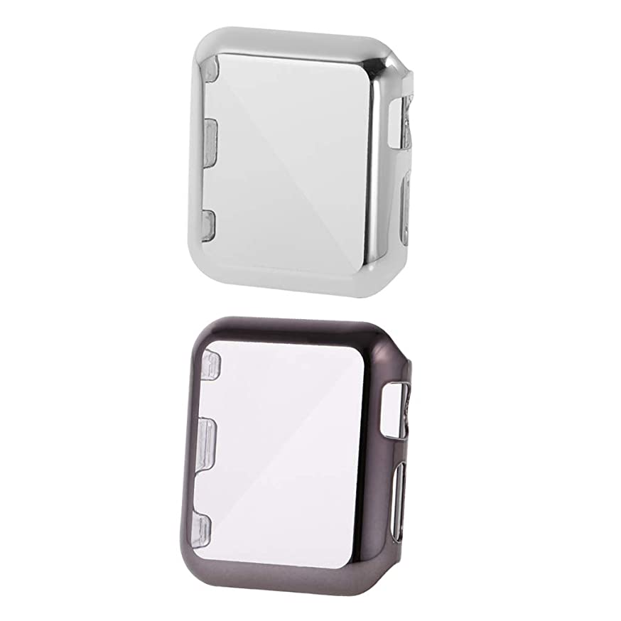 素晴らしいさわやか参照するD DOLITY プラスチックケース プロテクターカバー 保護カバー 傷防止 Apple Watch Series 2(42mm) に適用