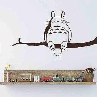 Decoration Accessories My Neighbor Totoro Vinyl Wall Sticker Inspired Decal Children Bedroom Playroom 45x85cm