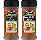Spice Supreme: Pumpkin Pie Spice, 2.5 oz Size (2 Pack)