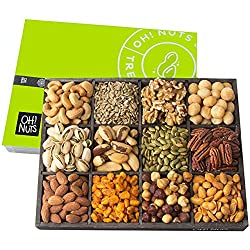 Holiday nuts and seeds tray