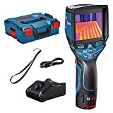 Bosch Professional 12V System Thermal Camera GTC 400 C (12V Battery + charger, w/app function, Temperature...