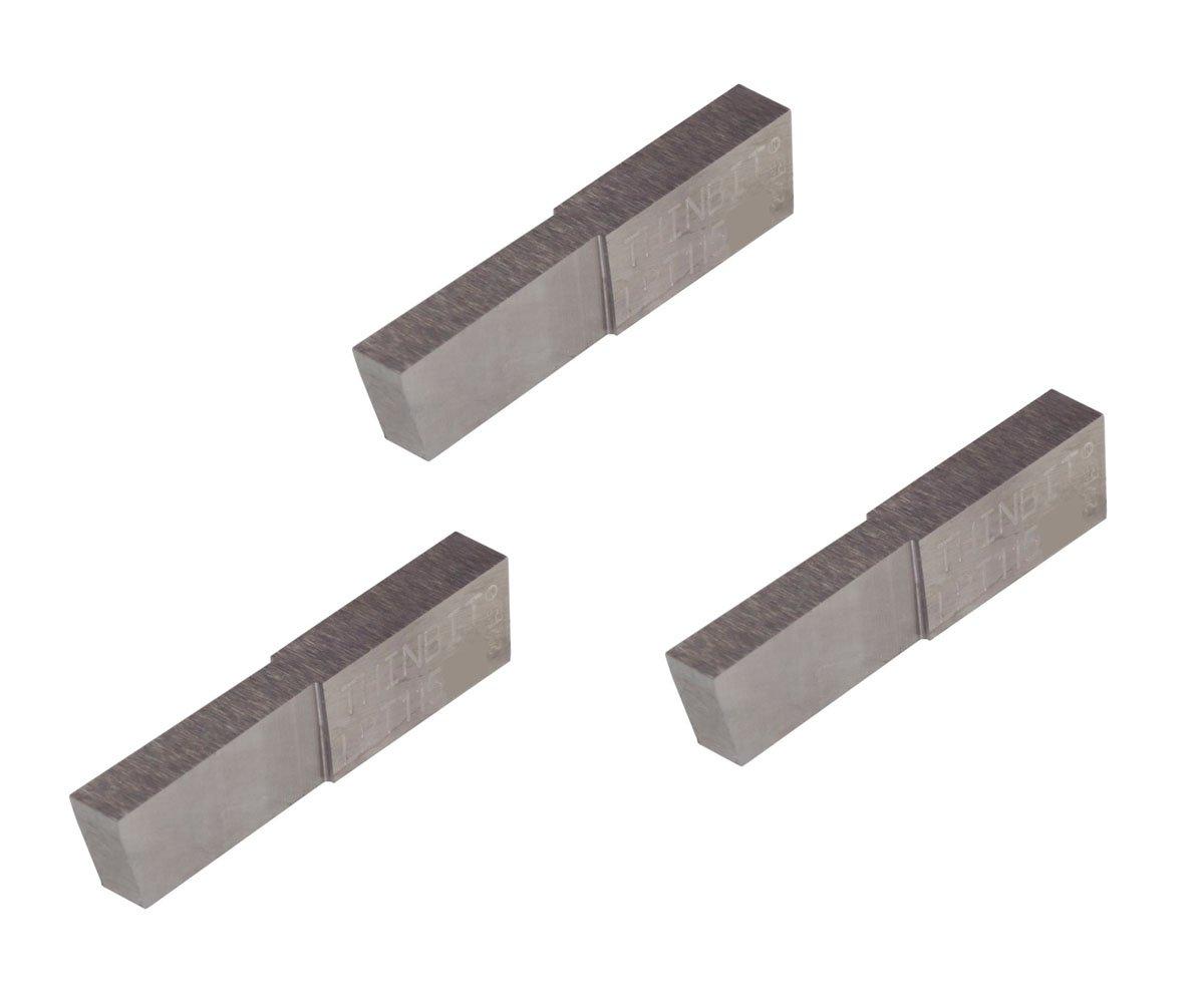 THINBIT 3 Pack LPT115D5E 'L' Carbide Coated Series Sale price TiAlN Parti Max 81% OFF
