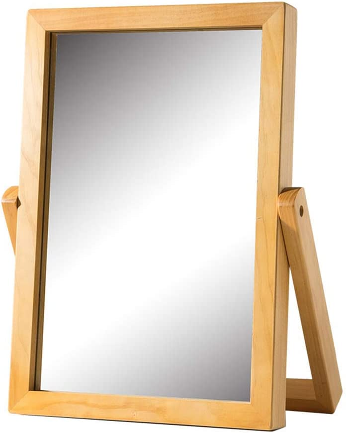 HLWJXS Mirror In stock Bathroom Wall-Mounted ,Desktop Dressing Inexpensive Table