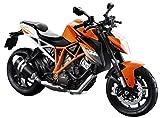 Maisto KTM 1290 Super Duke R: Originalgetreues Motoradmodell, Maßstab 1:12, mit Federung und...