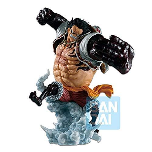 Banpresto-BP16423 B0847BGX2P Figura de Accion, One Piece, Battle Memories, Ichibansho Luffy Gear 4 Boundman, Color (Bandai BP16423)