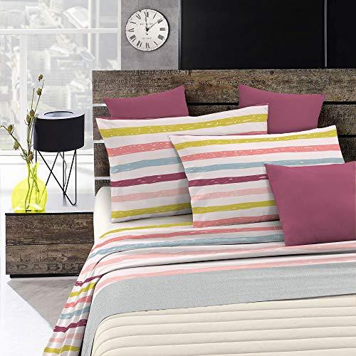 Italian Bed Linen Aquarel Beddengoedset, WT18, Tweepersoons