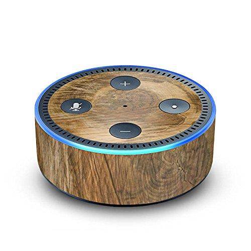 DeinDesign Amazon Echo Dot 2.Generation Folie Skin Sticker aus Vinyl-Folie Baumstamm Holz Look Baum