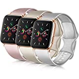 PACK 3 Compatible with iWatch Band 38mm