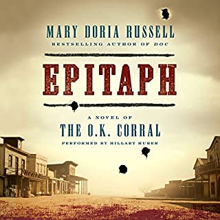 Epitaph audiobook cover art