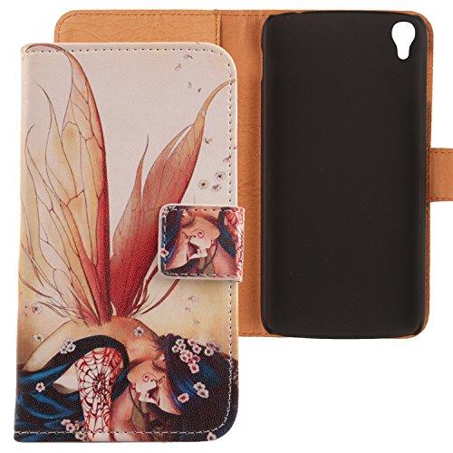 Lankashi PU Flip Leder Tasche Hülle Hülle Cover Schutz Handy Etui Skin Für Alcatel One Touch Idol 3 5.5