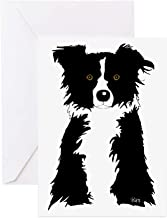 CafePress Border Collie Greeting Card (10-pack), Note Card with Blank Inside, Birthday Card Matte