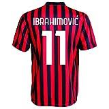 3rsport Milan Zlatan Ibrahimovic 11 Replika für Kinder (Größen 2 4 6 8 10 12) Erwachsene (S M L XL) (2/3 Jahre)