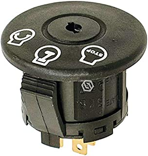 Lawn Mower Parts 430-185 OEM Genuine Stens Ignition Switch Fits John Deere Ariens MTD and E-Book in A Gift
