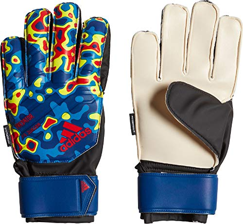 adidas Kinder Torwarthandschuhe Predator FS Manuel Neuer solar Yellow/Football Blue/Active red 3.5