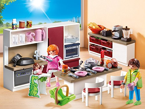 Ensemble de Cuisine Aménagée Playmobil Set - 9269 - 3