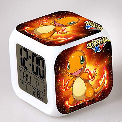 HHKX100822 Pokemon Kinder Kreative Kleine Wecker Pokemon Bunte Kreative Wecker l