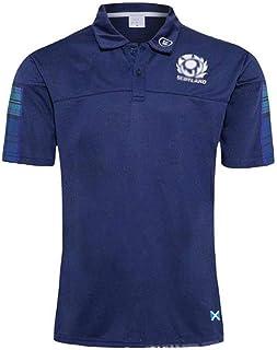 ラグビージャージ2020スコットランドラグビーTシャツRugby Jersey半袖シャツ夏用通気性メンズ服 サッカーユニフォーム S-5XL (Size : L)