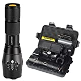 Lumitact G700 Led Torch Rechargeable Super Bright CREE Led Tactical Flashlight 2000 Lumen