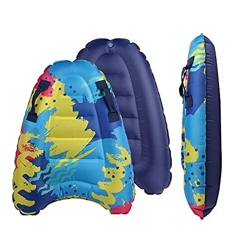 Bigtree - Tavola da surf gonfiabile, leggera e portatile, con manici, per il nuoto, l'apprendimento, adatto per adulti e bambini, per divertirsi in piscina estiva