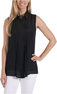 Ladies' Sleeveless Blouse with Matching Detachable Camisole